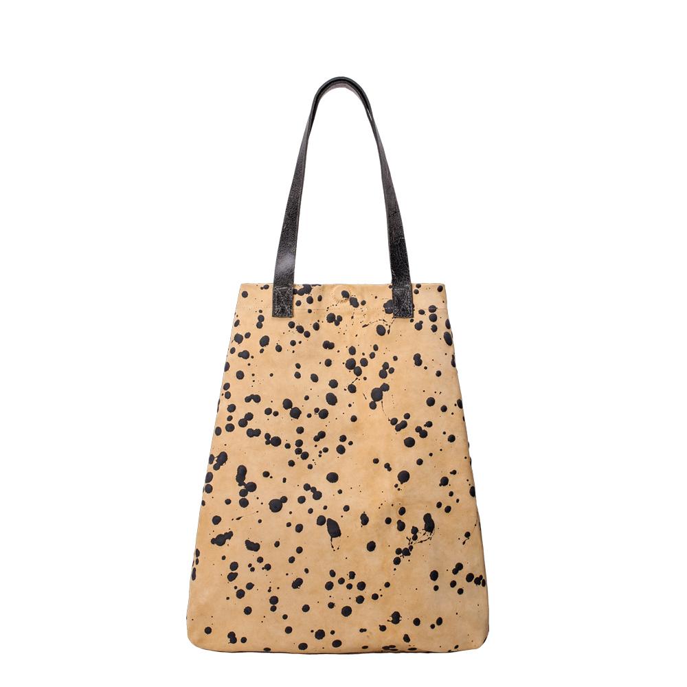 f4ae10f222 Shopping Bag - Beige/Grigio - Saisei: Borse Artigianali Made in ...